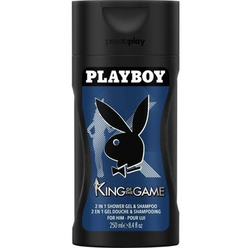 Playboy King Of The Game żel pod prysznic (250 ml)