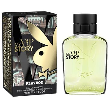 Playboy My Vip Story woda toaletowa spray 60ml