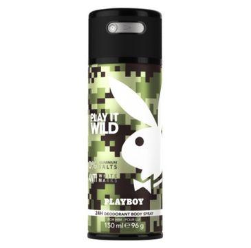 Playboy Play It Wild for Him dezodorant spray (150 ml)