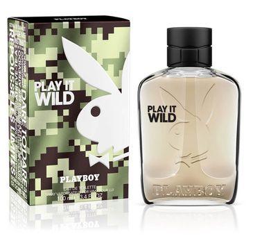 Playboy Play It Wild for Him woda toaletowa spray (100 ml)