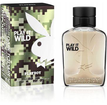 Playboy Play It Wild for Him woda toaletowa spray (60 ml)