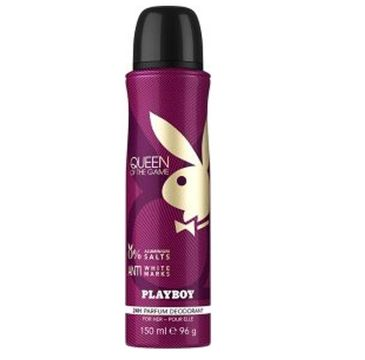 Playboy Queen Of The Game dezodorant spray (150 ml)