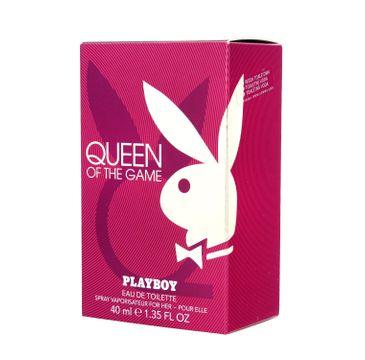 Playboy Queen of the Game – woda toaletowa (40 ml)