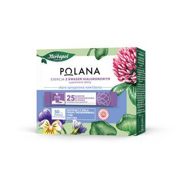 Polana – Esencja z Kwasem Hialuronowym - Suplement Diety skóra spragniona nawilżenia (25 saszetek)