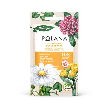 Polana – Maseczka do twarzy Odżywianie i Regeneracja - każdy rodzaj cery (8 g)