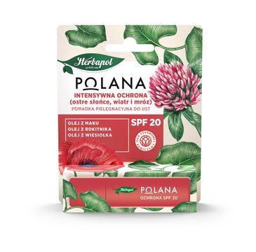 Polana – Pomadka pielęgnacyjna do ust Intensywna Ochrona SPF20 (4.7 g)
