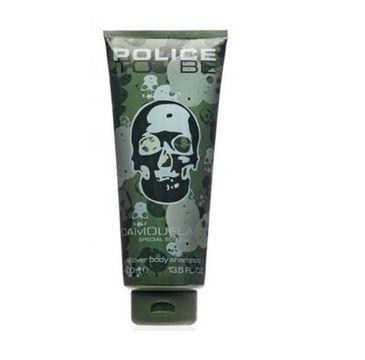 Police To Be Man Camouflage Special Edition all over body shampoo szampon- żel do mycia ciała i włosów 100 ml
