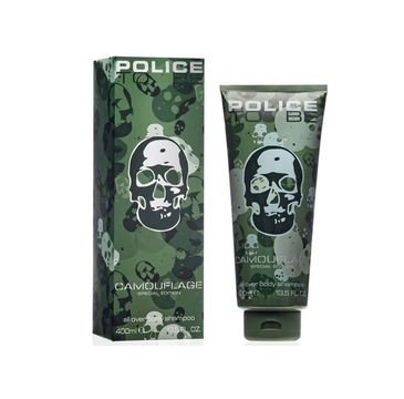 Police To Be Man Camouflage Special Edition all over body shampoo żel do mycia ciała i włosów 400 ml