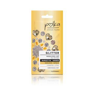 Polka – Glitter Maska Peel off Bursztyn Nawilżenie+ Napięcie (6 ml)