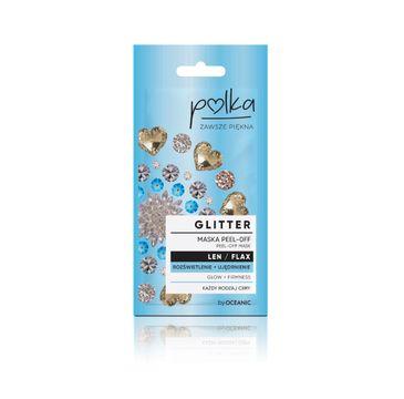 Polka – Glitter Maska Peel off Len Rozświetlenie+ Ujędrnienie (6 ml)