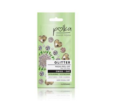 Polka – Glitter Maska Peel off Owies Wygładzenie+ Oczyszenie (6 ml)