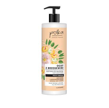Polka – odżywka do włosów Ocet Brzoskwiniowy (400 ml)