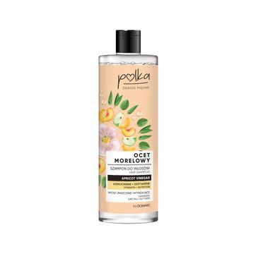 Polka – szampon do włosów Ocet Morelowy (400 ml)