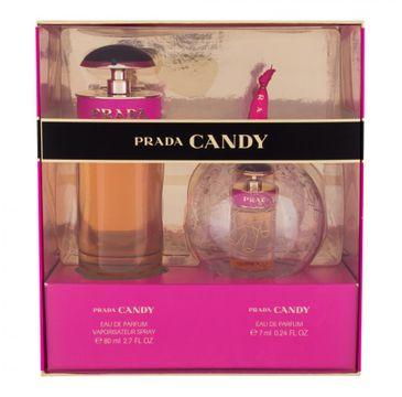 Prada Candy zestaw woda perfumowana spray 80ml + woda perfumowana spray 7ml (1 szt.)