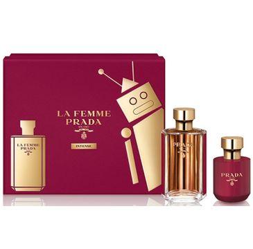 Prada La Femme Intense zestaw woda perfumowana spray 100 ml + balsam do ciała 100ml