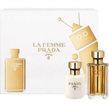 Prada La Femme zestaw woda perfumowana spray 50ml + balsam do ciała 100ml