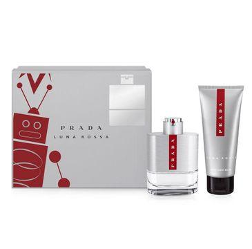 Prada Luna Rossa Pour Homme zestaw prezentowy woda toaletowa spray 100 ml + balsam po goleniu 100 ml