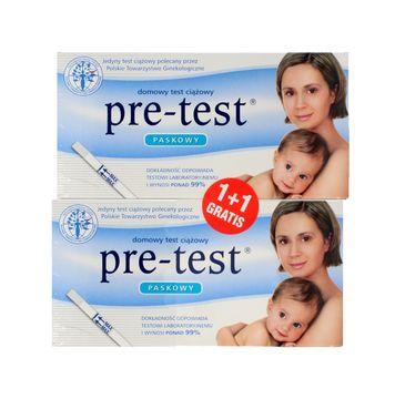 Pre-Test test ciążowy paskowy 1+1 szt.