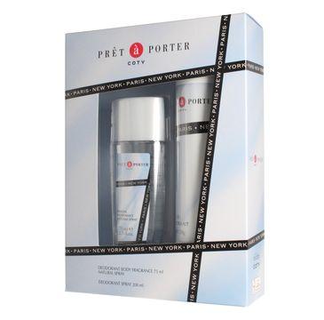 Pret-a-Porter zestaw prezentowy dezodorant naturalny spray 75 ml + dezodorant spray 200 ml