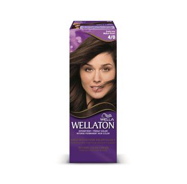 Pro Wellaton krem intensywnie koloryzujący nr 4/0 Średni Brąz 1 op.