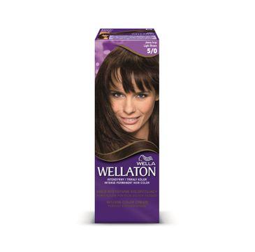 Pro Wellaton krem intensywnie koloryzujący nr 5/0 Jasny Brąz 1op.