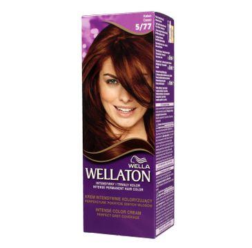 Pro Wellaton krem intensywnie koloryzujący nr 5/77 Kakao 1 op.