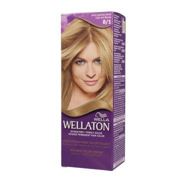Pro Wellaton krem intensywnie koloryzujący nr 8/1 Jasny Popielaty Blond 1 op.