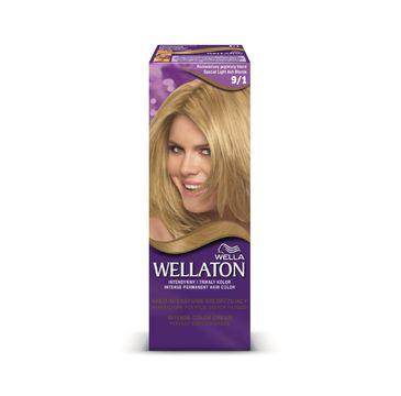 Pro Wellaton krem intensywnie koloryzujący nr 9/1 Rozświetlony Popielaty Blond 1 op.
