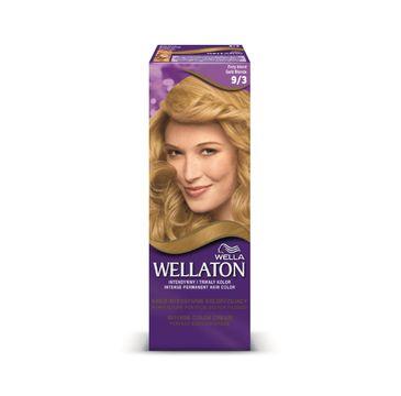 Pro Wellaton krem intensywnie koloryzujący nr 9/3 Złoty Blond 1 op.