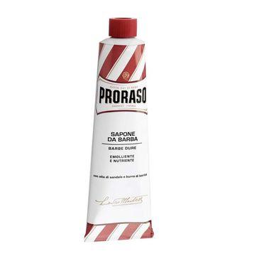 Proraso Sapone Da Barba zmiękczające mydło do golenia z olejkiem sandałowym i masłem shea 150ml