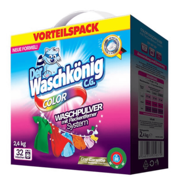 Waschkonig Proszek do prania do kolorowych tkanin (2.4 kg)