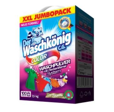 Waschkonig Proszek do prania do kolorowych tkanin (7.5 kg)