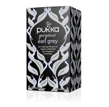 Pukka Gorgeous Earl Grey organiczna herbata czarna 20 torebek