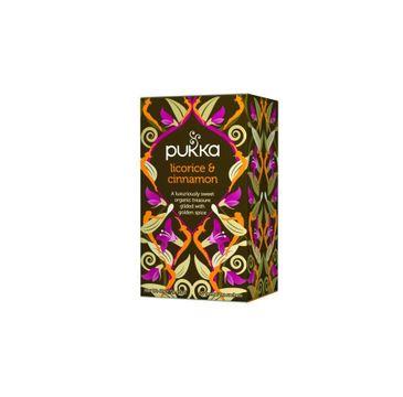 Pukka Licorice & Cinnamon organiczna herbatka ziołowa z lukrecją i kakao 20 torebek