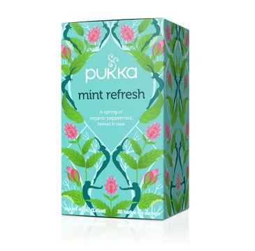 Pukka Mint Refresh organiczna herbatka z miętą 20 torebek