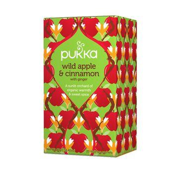 Pukka Wild Apple and Cinnamon organiczna herbatka z cynamonem i jabłkiem 20 torebek