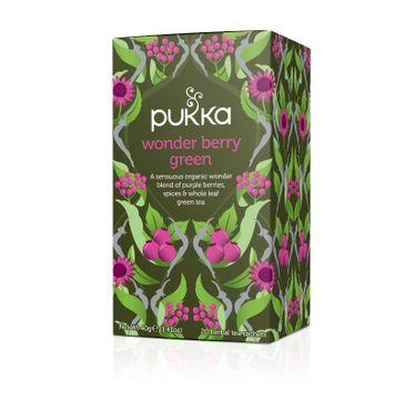 Pukka Wonder Berry Green organiczna herbatka zielona 20 torebek