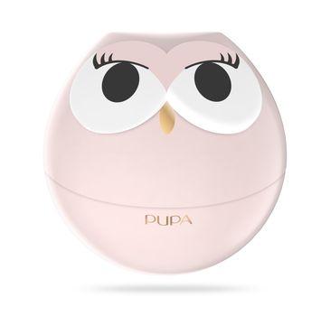 Pupa Owl 1 zestaw do makijażu ust - 3 pomadki i 2 błyszczyki 001 Pink Shades 1szt