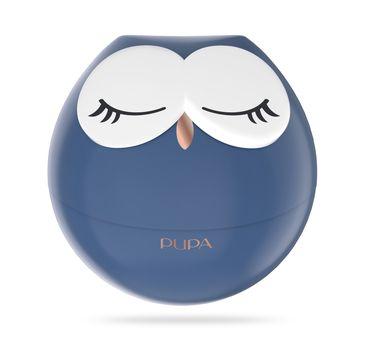Pupa Owl 1 zestaw do makijażu ust - 3 pomadki i 2 błyszczyki 003 Fuchsia Shades 1szt