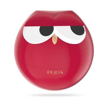 Pupa Owl 1 zestaw do makijażu ust - 3 pomadki i 2 błyszczyki 004 Red Shades 1szt