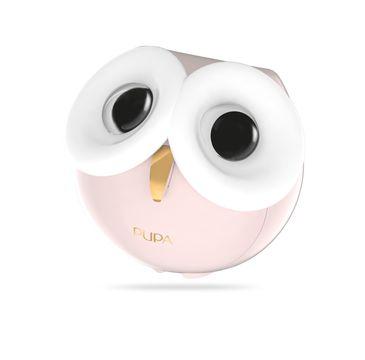 Pupa Owl 3 zestaw do makijażu twarzy, oczu i ust 001 Warm Shades 1szt