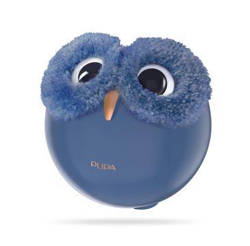 Pupa Owl 4 zestaw do makijażu twarzy, oczu i ust 002 Warm Shades 1szt