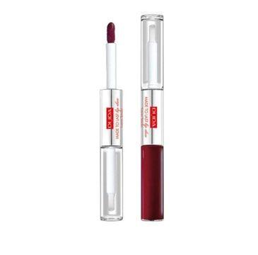 Pupa – Pomadka do ust Made To Last Lip Duo wodoodporna nr 017 Red Wine (1 szt.)
