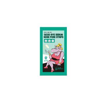 Purenskin Good Bye Sebum Nose Pore Strips oczyszczające plastry na nos Aloe 1g