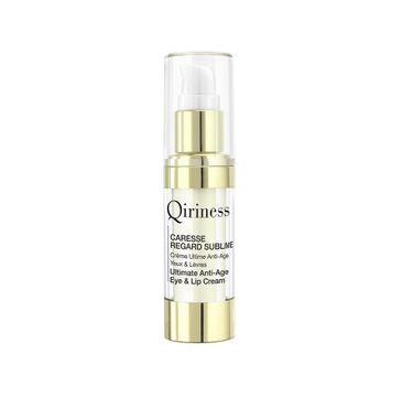 Qiriness Caresse Regard Sublime krem o globalnym działaniu przeciwstarzeniowym do pielęgnacji okolic oczu i ust 15ml