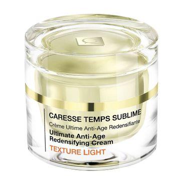 Qiriness Caresse Temps Sublime Texture Light krem poprawiający gęstość skóry o globalnym działaniu przeciwstarzeniowym 50ml