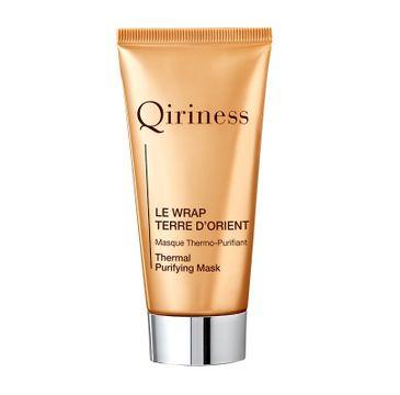 QIRINESS Le wrap Terre D'Orient Maska do twarzy rozgrzewająco-oczyszczająca 50ml
