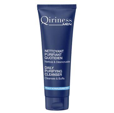 Qiriness Men Daily Puryfing Cleanser żel oczyszczająco-złuszczający do twarzy 125ml