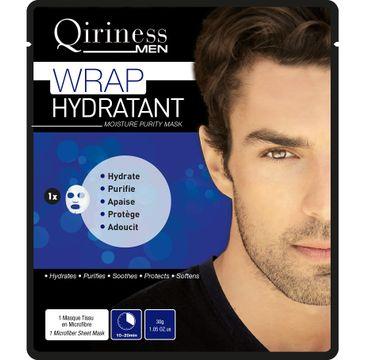Qiriness Men Wrap Hydratant Moisture Purity Mask maseczka nawilżająco-oczyszczająca 30g