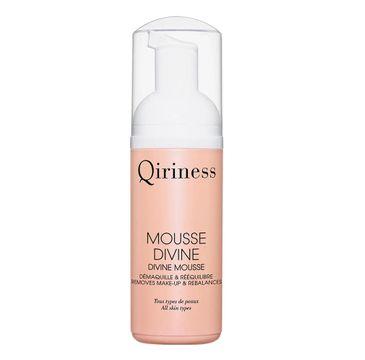 Qiriness Mousse Divine oczyszczająca pianka do twarzy (125 ml)